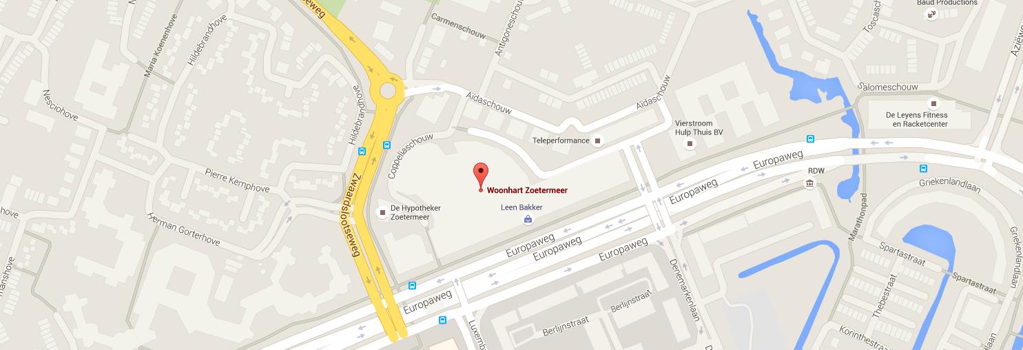 Google Maps Woonhart