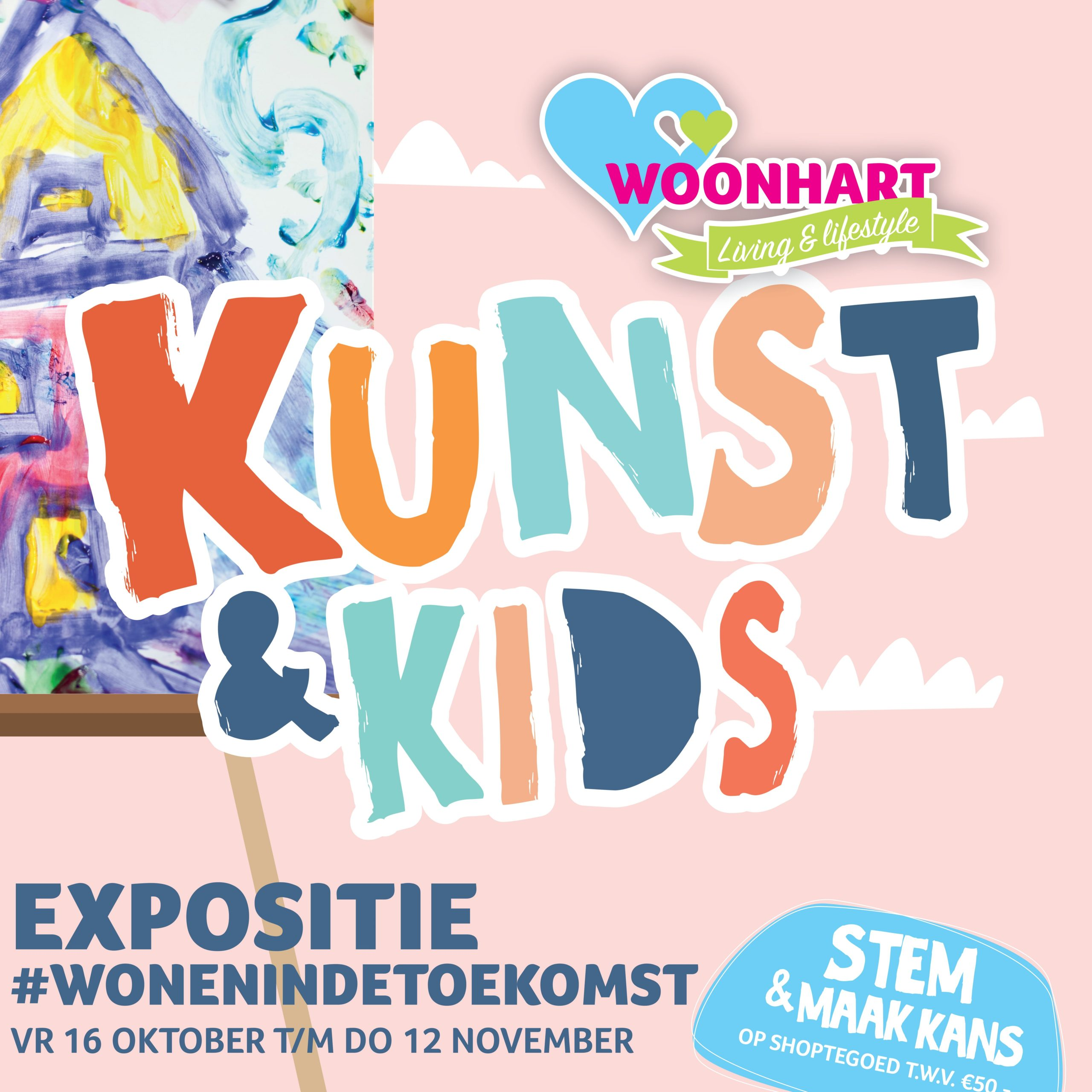 De Winnaars Zijn Bekend! Kunst & Kids Expositie #wonenindetoekomst